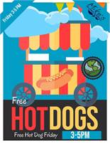 Mike's Free Hot Dog Friday