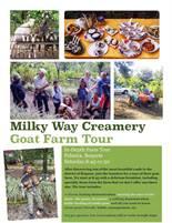 Agrotourism Experience, Milky Way Creamery Goat Farm Tour