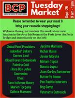 BCP Tuesday Market