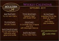 August Instapot Cooking Classes at Boulder 54!