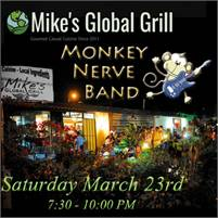Monkey Nerve at Mike's Global